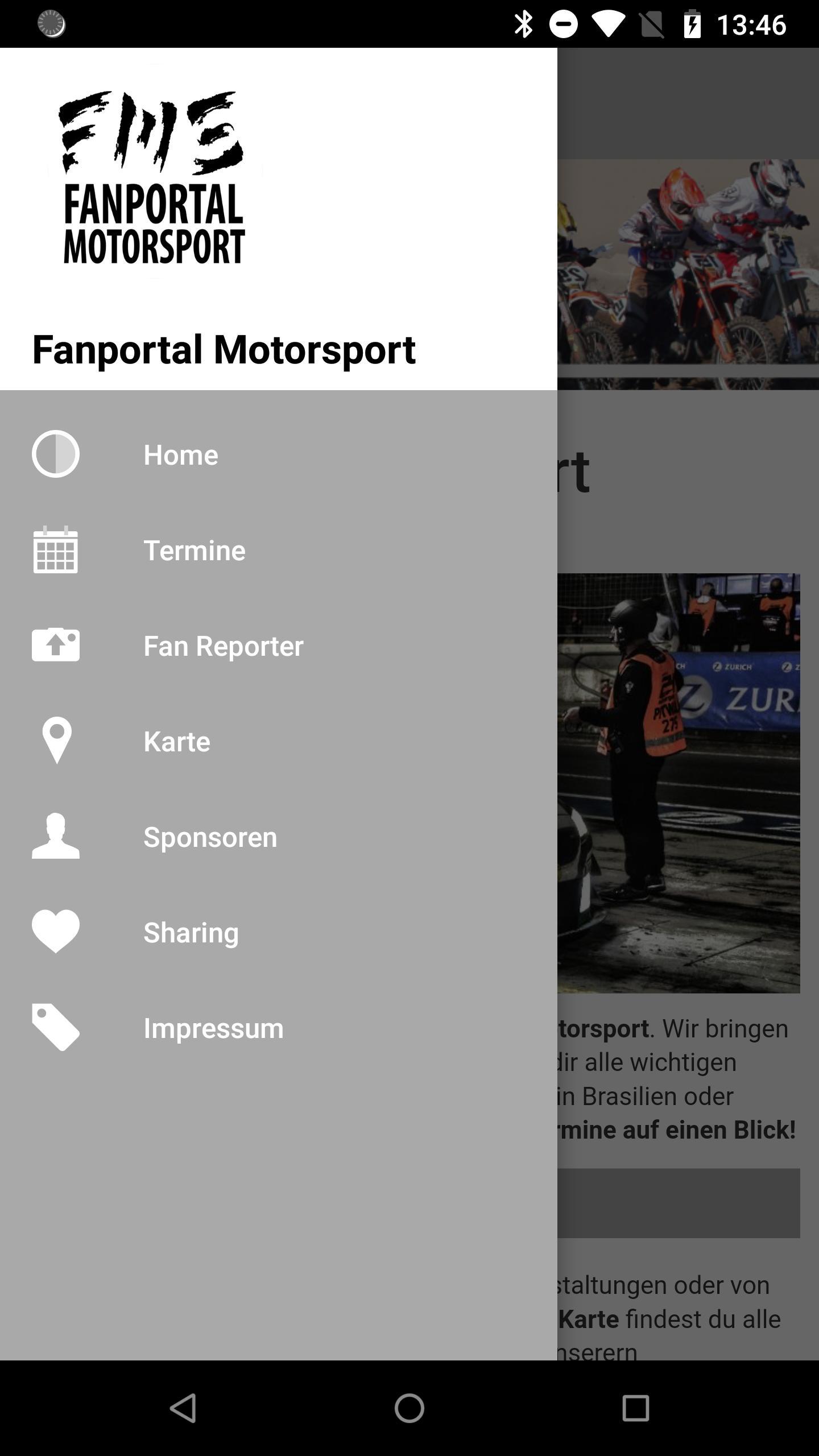 Fanportal Motorsport poster