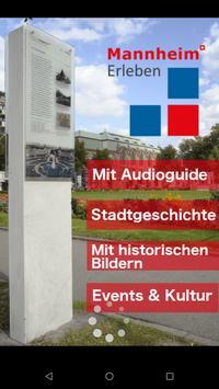 Mannheim Erleben poster