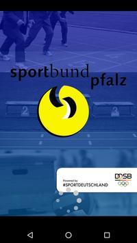 Sportbund Pfalz poster