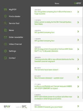 EFOY apk screenshot