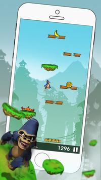 Gorilla Jump - Free Action Jump Game apk screenshot