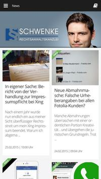 Rechtsanwaltskanzlei Schwenke apk screenshot