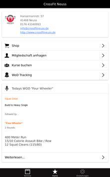 CrossFit Neuss apk screenshot