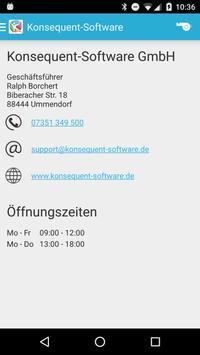 Konsequent-Software screenshot 1