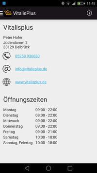 Vitalis Plus Delbrück screenshot 3