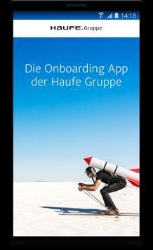 OnBoarding Haufe Gruppe apk screenshot
