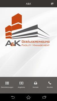 A&K Reinigung poster