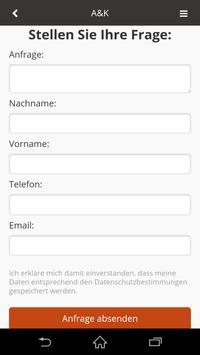 A&K Reinigung screenshot 1