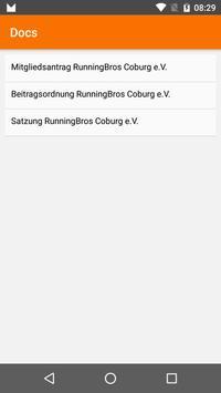 RunningBros Coburg apk screenshot