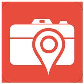 NSA photo spy (geolocation) icon