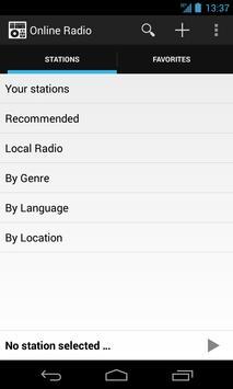 Online Radio poster