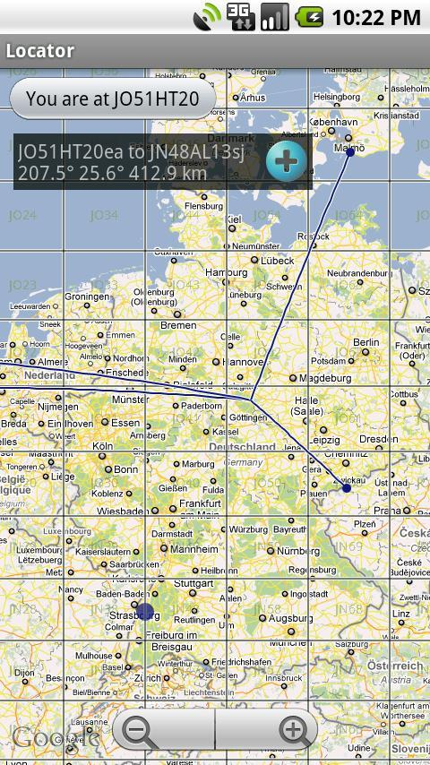 qth locator karte deutschland QTH Locator for Android   APK Download