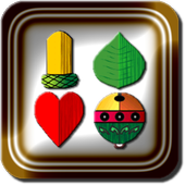 21 twenty one - card game icon