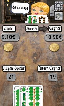 21 twenty one - card game screenshot 5