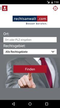 Anwalt & Recht poster