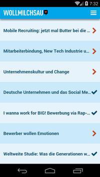 Wollmilchsau - Blog App poster