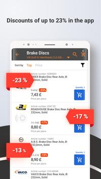 2 Schermata Autodoc — Ricambi auto online di alta qualità