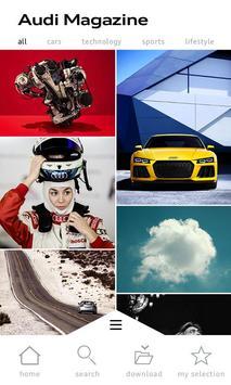 Audi Magazine poster