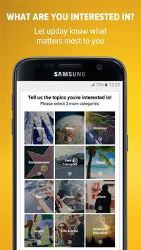 upday news for Samsung apk screenshot