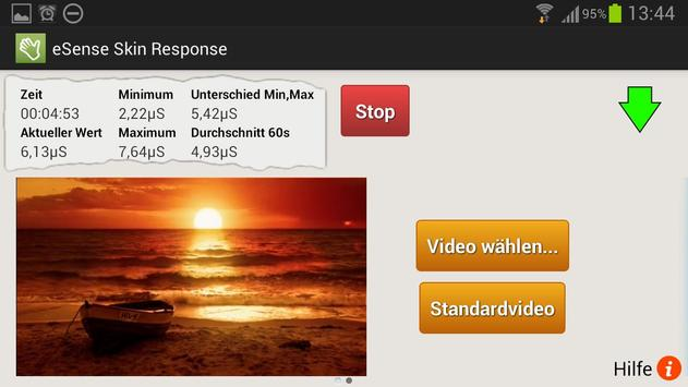 eSense Skin Response apk screenshot