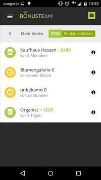 Bonusteam: Gemeinsam. Lokal. apk screenshot