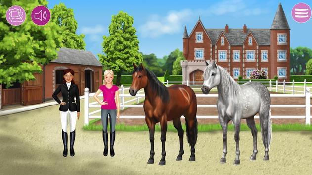 Pferde- und Reiter Anzieh-Spaß apk screenshot