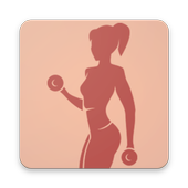 Body fitness for girls, the daily workouts program icon