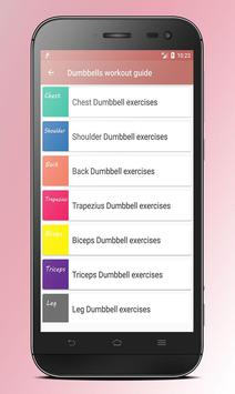 Body fitness for girls, the daily workouts program apk screenshot