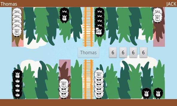 Fluffy Sheep Backgammon apk screenshot