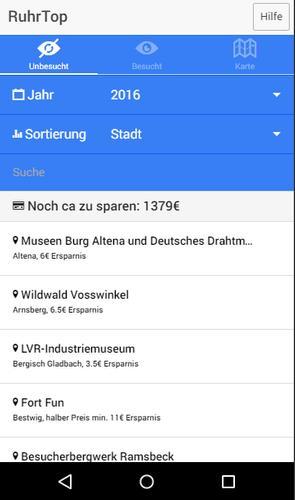 Ruhrtop Karte.Ruhrtop For Android Apk Download