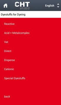 Bezema Colour Solutions. Dyestuff Range screenshot 1