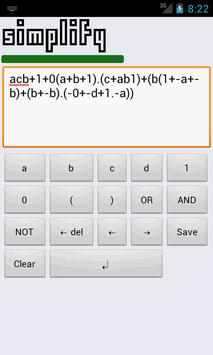Morgana Boolean Calculator X screenshot 1
