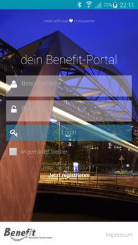 Benefit Portal poster