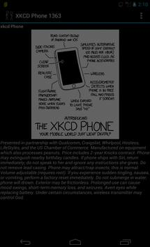 XKCD Phone 1363 poster