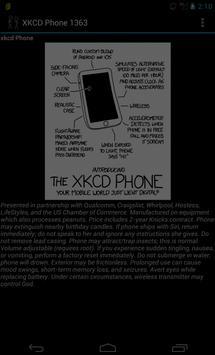 XKCD Phone 1363 apk screenshot