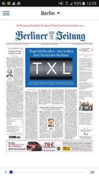 Berliner Zeitung E-Paper poster