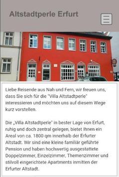 Villa Altstadtperle Erfurt poster
