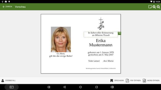 Emmel Trauerdruck capture d'écran 1