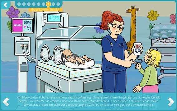 Hallo Frühchen - Frühgeburt kindgerecht erklärt screenshot 20