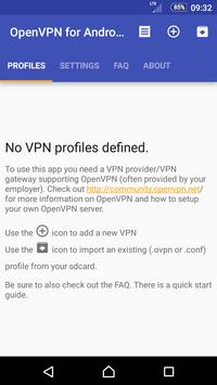 OpenVPN for Android apk screenshot