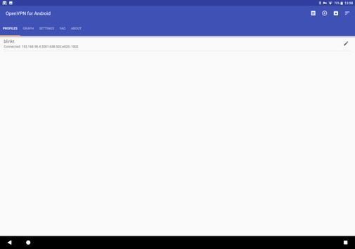 OpenVPN for Android apk screenshot
