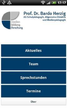 Medienbildung Uni Paderborn poster