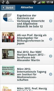Medienbildung Uni Paderborn apk screenshot