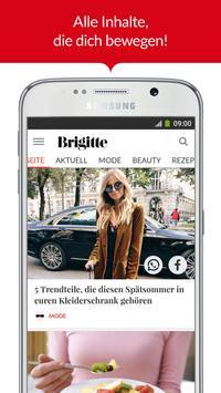 BRIGITTE – Mode, Liebe, Beauty poster