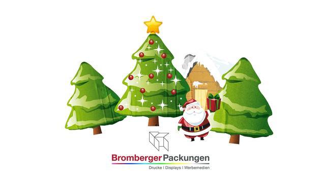 Bromberger Weihnachtskarte poster