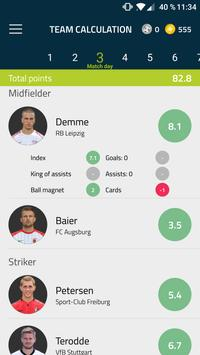 Football Stars – The Manager powered by kicker apk screenshot