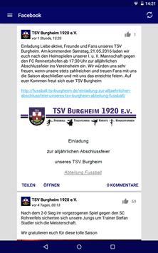 TSV Burgheim 1920 e.V. screenshot 14