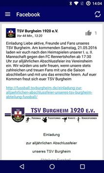 TSV Burgheim 1920 e.V. screenshot 2