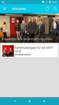 DAFF 2018 in Rain poster