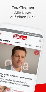 BUNTE.de screenshot 1